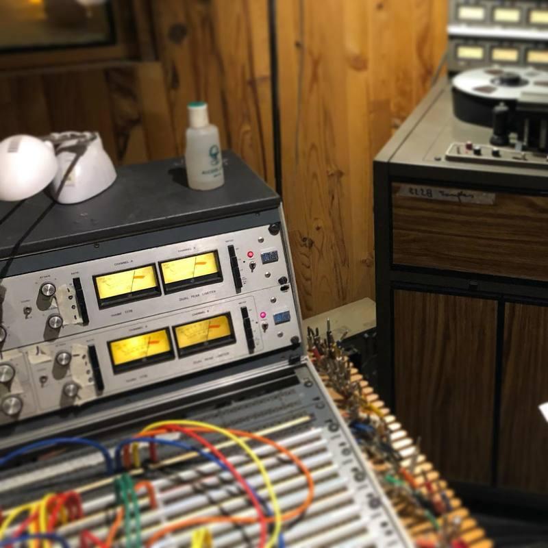 Nostalgie d'un passage en studio au @garagehermetiquestudio l'année dernière.